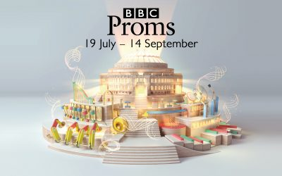 Victoria Park Singers performing in the Proms, Royal Albert Hall